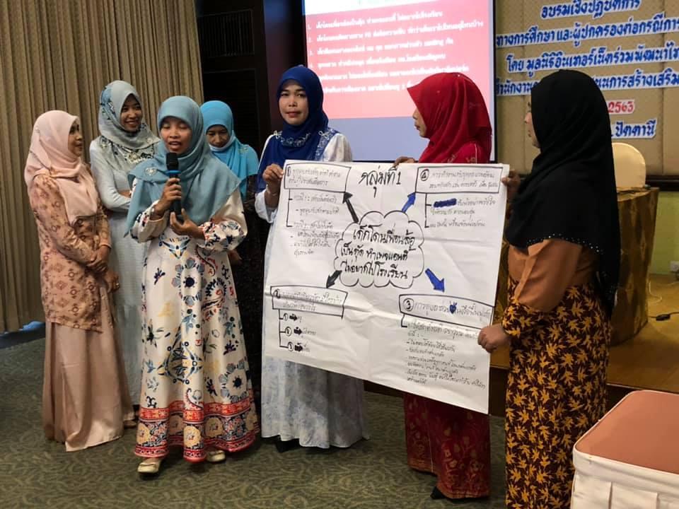 อบรมเชิงปฏิบัติการ แนวปฏิบัติของครู บุคลากรทางการศึกษาและผู้ปกครองต่อกรณีล่วงละเมิดต่อเด็กและยาวชน วันที่ 25 ตุลาคม 2563